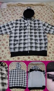 Checkered Santa Cruz jacket